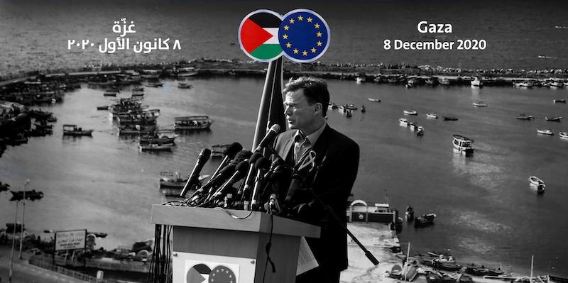 زيارة ممثلي الاتحاد الأوروبي إلى قطاع غزة مهمة ومتأخرة